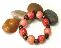 washi-coveredbeadbracelet