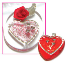 Glass Heart Tile