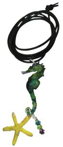 Shrink Art Necklace